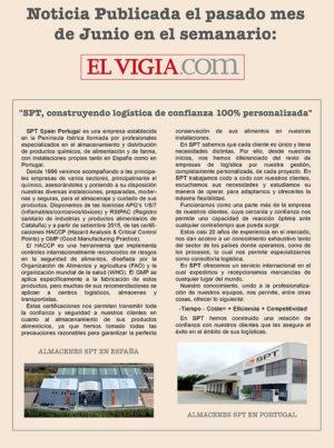 SPT Logistic no jornal El Vigia