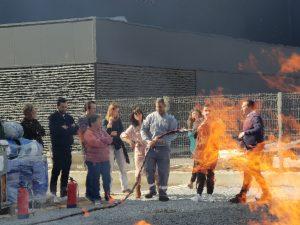 Formación – Lucha contra incendios y Técnicas de evacuación