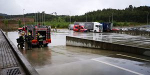 SPT Portugal realiza un simulacro de emergencia
